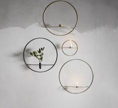 POV Circle telysestake messing stor Sorting, Round Glass, Menu, Wall Decor, Interior, Kitchen, Design, Home Decor, Decorations
