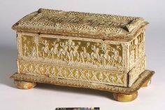 Box, made in Venice, Italy ca. 1510. | Victoria & Albert Museum Collection, London.