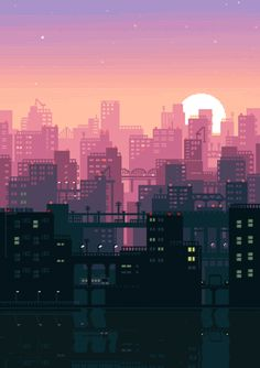 Post with 2676 votes and 121544 views. Tagged with gaming, gif, pixel art; I'll just leave some pixel art GIFs here. Arte 8 Bits, 8bit Art, Anime Scenery, Aesthetic Art, Aesthetic Anime, Cute Wallpapers, Aesthetic Wallpapers, Concept Art, Poster