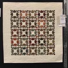 Quilt by Judy Day, seen at Sydney Craft and Quilt Fair 2017. Swipe for details. #quiltsofinstagram #quiltsfordays #quiltaday #sydneycraftandquiltfair @quilterjd
