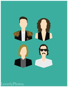 The Killers Band Members Print