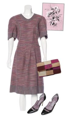 """""""dress"""" by masayuki4499 ❤ liked on Polyvore featuring Chanel and Manolo Blahnik"""