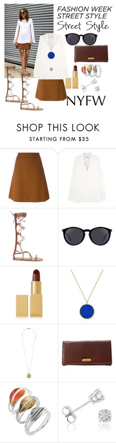 """""""NYFW Street Style: Day One"""" by jaydencriss ❤ liked on Polyvore featuring Marni, Vince, Yves Saint Laurent, AERIN, Lauren Ralph Lauren, Pilgrim, Buxton, Caroline Royal and Amanda Rose Collection"""