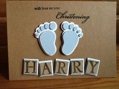 Handmade personalised card  with love on your by ShellBellCards, £2.50