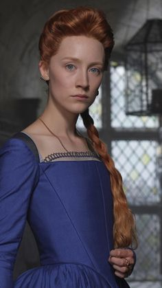 Downaload Saoirse Ronan, Mary, Mary Queen of Scots wallpaper for screen Samsung Galaxy mini Neo, Alpha, Sony Xperia Compact ASUS Zenfone Mary Queen Of Scots, Queen Mary, Mary Mary, The Lovely Bones, Mary Stuart, Portraits, Movie Costumes, Romance, Redheads
