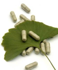 ginkgo leaf and pills