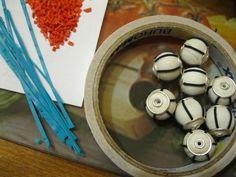 Мастер-класс. Как сделать бусины в Тибетском стиле - Juwero - украшения и бижутерия ручной работы.