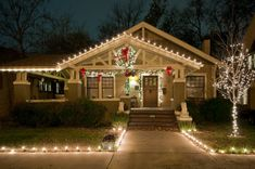 1915 Craftsman - Fairmount District - Fort Worth, Texas - Christmas 2011