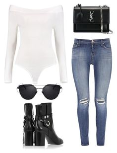 """""""Untitled #5086"""" by lilaclynn ❤ liked on Polyvore featuring Boohoo, Isabel Marant, J Brand, Yves Saint Laurent, YSL, saintlaurent, isabelmarant, yvessaintlaurent and boohoo"""