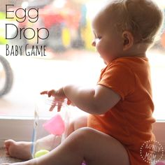 Easy Baby Games with Plastic Eggs - Happily Ever Mom