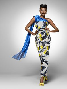From the archive: a party look from Vlisco's 2011 'Tresor Brillant' collection…