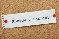 شخصية كمالية Nobody's Perfect