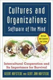 Hofstede, Geert H. ; Hofstede, Gert Jan: Cultures and organizations software of the mind