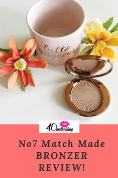 I tried the Match Made Bronzer from No7 and here are results.  Full Review now on the Beauty Blog!  #makeup #bronzer #makeupproducts #makeupreview #beauty #beautyblog #40andholdinglife