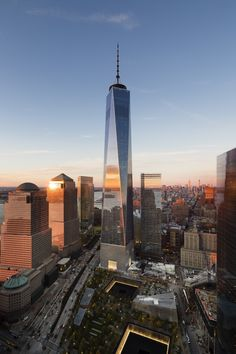 Image 1 of 47 from gallery of One World Trade Center / SOM. Photograph by James…