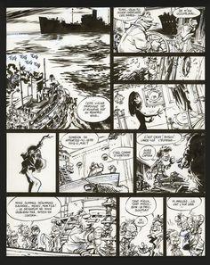 Aventure en Jaune planche 18 by Didier Conrad - Comic Strip