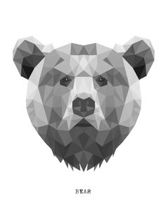 Bear Art Print by Carma Zoe