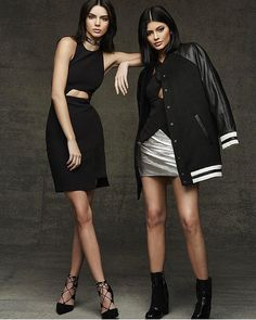 First look at Kendall + Kylie for @topshop holiday. The collection is available this Friday!