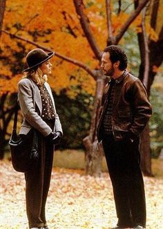 """Harry & Sally, When Harry Met Sally. """"It is so nice when you can sit with someone and not have to talk."""""""