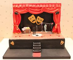 Atelier Sucrème: Pastel escenario de teatro