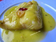 Bacalao al pil pil Gefilte Fish Recipe, Cod Recipes, Whole 30 Recipes, Seafood Recipes, Healthy Recipes, Ono Fish Recipe, Parmesan Fish Recipe, Fluke Recipe, Gastronomia