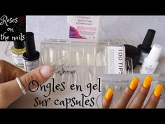 Comment créer un ongle en gel sur capsule // forme carré + apex // Tuto // roses on the nails ⚘ - YouTube Acrylic Nails At Home, Acrylic Nail Shapes, Voss Bottle, Wax, Roses, Nail Polish, Pretty Nails, Pink, Rose