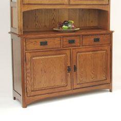 GS Furniture AC35435B1SN Pasadena Buffet Server Sideboard at ATG Stores