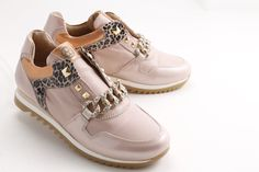 Chained dusty #pink! #FlorensShoes #sneakers #fallwinter #accessories #cantmiss #2015 #fashion