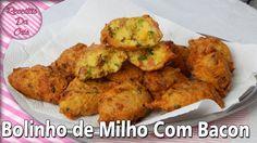 #ESPECIAL FESTA JUNINA - Bolinho De Milho Com Bacon!!