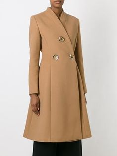 Stella Mccartney V-neck Coat - Donne Concept Store - Farfetch.com