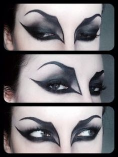 Halloween wants to look GREAT with your vampire fangs ! – Halloween Make Up Ideas Yeux Halloween, Halloween Bats, Halloween Face Makeup, Gothic Halloween Costumes, Witch Costumes, Halloween Ideas, Terrifying Halloween, Halloween Clothes, Fairy Costumes