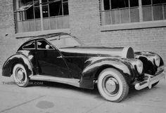 Bugatti T43 with Derham body