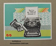 Jen's Jewel Box (CTMH with Jen Rubio): April Stamp of the Month Blog Hop!