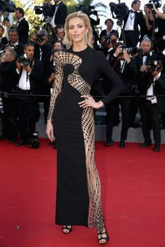 The most glamorous red carpet fashion spotted at Cannes Film Festival: Anja Rubik