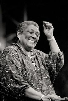 Carmen McRae. Crazybig voice. She's an Ella Fitzgerald contemporary and just as good.