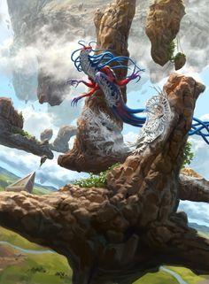 Mist Intruder - Battle for Zendikar MtG Art