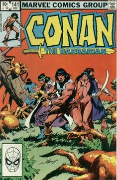 When John Buscema was named to become the artist on Conan the Barbarian it was the perfect union of a talent and a property. Marvel Comic Books, Comic Book Heroes, Comic Books Art, Comic Art, Marvel Comics, Marvel Heroes, Conan The Barbarian Comic, Conan Der Barbar, Comic Book Grading