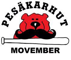 Pesäkarhut Movemberissä.