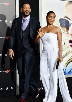 Will Smith e a mulher, Jada Pinkett Smith (Foto: Kevin Winter/Getty Images)