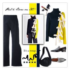 """""""Put a Bow on It!"""" by mcheffer ❤ liked on Polyvore featuring Jacquemus, CÉLINE, Chanel and bows"""