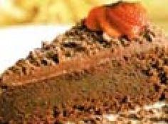 Receita de Bolo de Chocolate - bolo com a cobertura e deixe esfriar. Rale o chocolate reservado e espalhe sobre o topo do bolo. Polvilhe com o açúcar de confeiteiro e...
