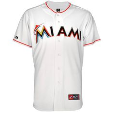 Miami Marlins Replica 2012 Home Jersey