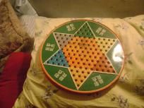 large vintage chinese checkers board - metal I Remember When, Childhood, Chinese, Memories, Antiques, Metal, Games, Vintage, Board