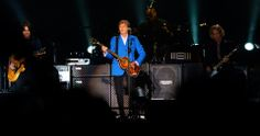 BEATLES  MAGAZINE: PAUL AT NATIONAL STADIUM TONIGHT IN COSTA RICA -photos