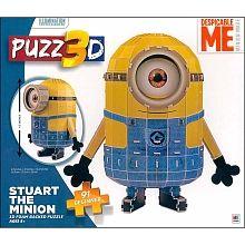 PUZZ 3D - #DespicableMe #Minion 91pcs Puzzle