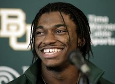 Draft Day! RG3 is going to make a big splash... First time #1 and #2 are both #1's on paper, on the field and off it seems.