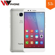 """Check lastest price WV Original HuaWei Honor 5X  2GB RAM  16G Rom 4G LTE Mobile Phone  Octa Core 5.5"""" FHD 1080P  13.0MP Fingerprint just only $147.88 - 159.88 with free shipping worldwide  #mobilephones Plese click on picture to see our special price for you"""