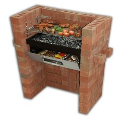 Build in - Barbecue Grill & Bake with Oven & BBQ Grill: Amazon.co.uk: Garden & Outdoors