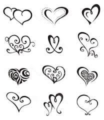 Resultado de imagen para plantilla de tatuajes pequeños