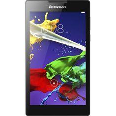 """Lenovo - Tab 2 A7 - 7"""" Tablet - 16GB - Ebony - Front Zoom"""